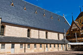Famous hospice in Beaune, France — Foto Stock