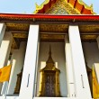 Stock Photo: Tempel areWat Pho in Bangkok with colorful roof in beautiful