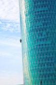 Facade of skyscraper — Stock Photo