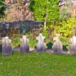 Stock Photo: Graveyards in garden of dome in Limburg, Germany