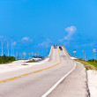 Bridge in the Florida Keys — Stock Photo