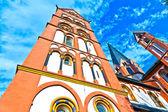 Berühmten gotischen Dom in limburg — Stockfoto