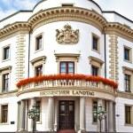 Hessischer Landtag in Wiesbaden — Stock Photo #6263015