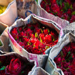 Rose Flower Group Market — Stock Photo