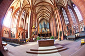 Beautiful ceiling and hall in dome of Wetzlar — Stock Photo