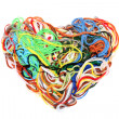 Stock Photo: Entangled threads