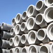 Concrete pipes — Stockfoto