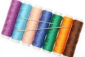 Thread and needle — Stock Photo