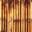 Stock Photo: Rusty corrugated iron