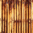 Foto de Stock  : Rusty corrugated iron