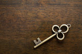 Old key — Stock Photo