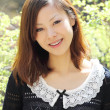 Beautiful young japanese woman - Stock Photo