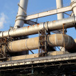 Stock Photo: Industrial pipes