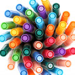 Stock Photo: Colorful pens
