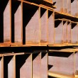 Iron girder - Stock Photo