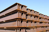 Iron girder — Stock Photo