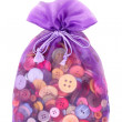 Buttons in bag — Stock Photo #5673090