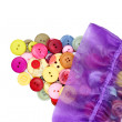 Buttons and bag — Stock Photo #5673107
