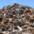 Stock Photo: Scrap yard