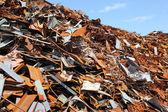 Scrap yard — Stock Photo