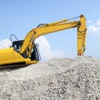 Loader Excavator - Stock Photo