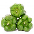 Wrinkled green pepper — Stock Photo