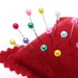 Pins and pincushion — Stock Photo #5733692