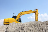 Loader Excavator — Stock Photo