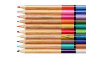 Color pencils — Stock fotografie