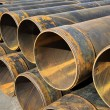 Stock Photo: Metal tubes