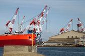 Ship yard — Stock Photo