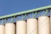 Ste silos — Stock Photo