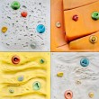 Stock Photo: Climbing Wall