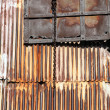Foto de Stock  : Corrugated iron