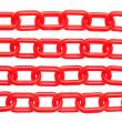 Plastic chain - Stock Photo