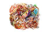 Entangled threads — Stock Photo