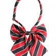 Royalty-Free Stock Photo: Striped bow tie for women