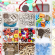 Craft materials — Stock Photo