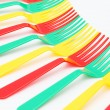Colorful forks — Foto Stock