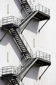 Fire escape — Stock Photo