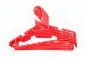 Plastic hanger — Stock Photo