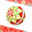 Japanese traditional ball - Stock Photo