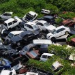 Junk yard — Stock Photo