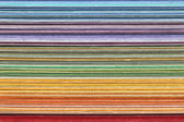 Stack of colorful paper — Stock Photo