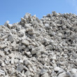Gravel piles in a quarry — Stock Photo