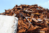 Pile of scrap metal — Stock Photo