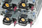 Servers power supply units — Stock Photo
