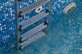Stair in swimming pool — Stock Photo