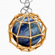 3D Earth in metal cage — Stock Photo #5492670