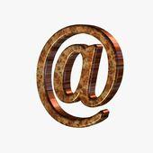 Internet mail symbol — Stock Photo